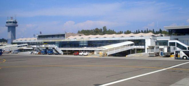 Аэропорт Корфу Греция