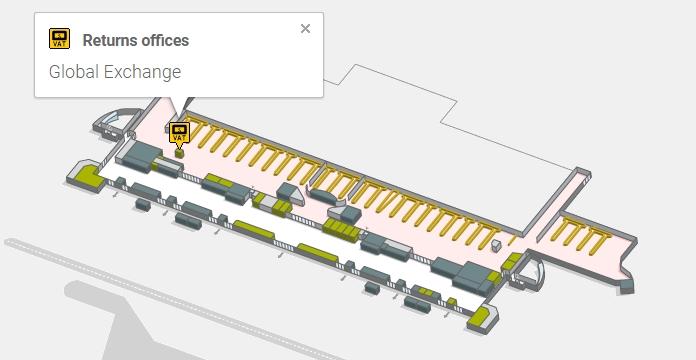 Такс Фри в аэропорту Пальмы-де-Майорка