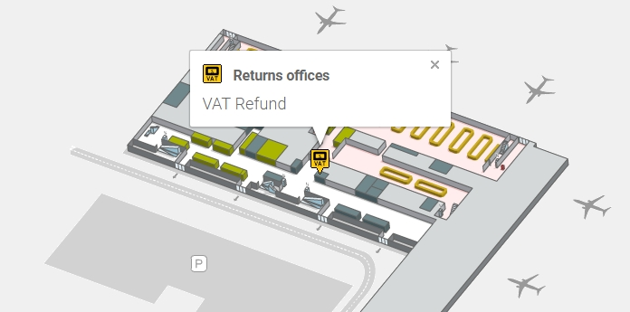 Такс Фри в аэропорту Испании Аликанте