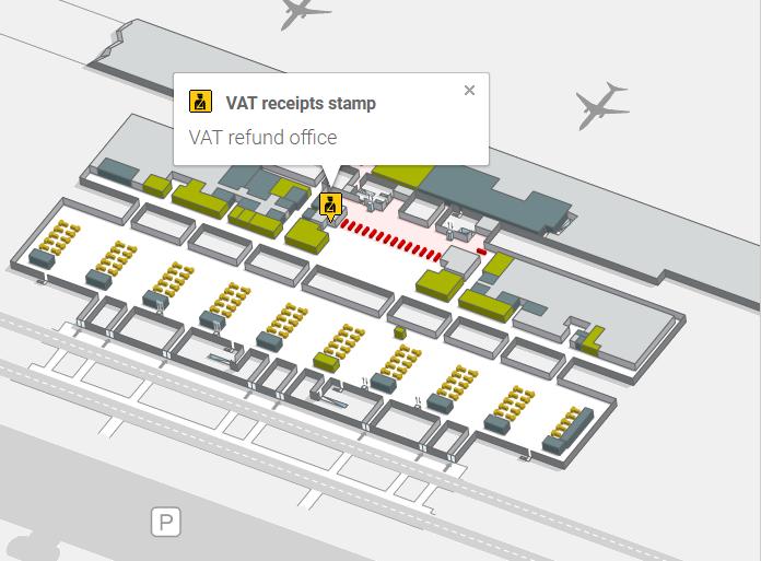 Отделение Guardia Civil в терминале Т4 аэропорта Мадрида