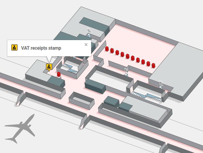 Отделение Guardia Civil в терминале Т4S аэропорта Мадрида