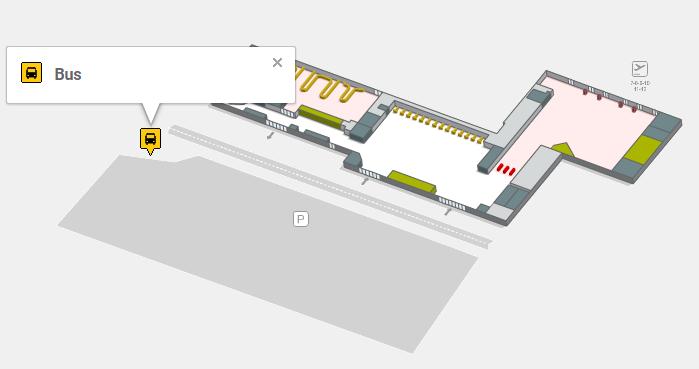 Автобусная остановка аэропорта Реус