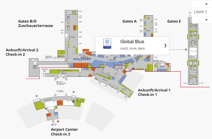 Офис Global Blue: 1 этаж, Airside Center