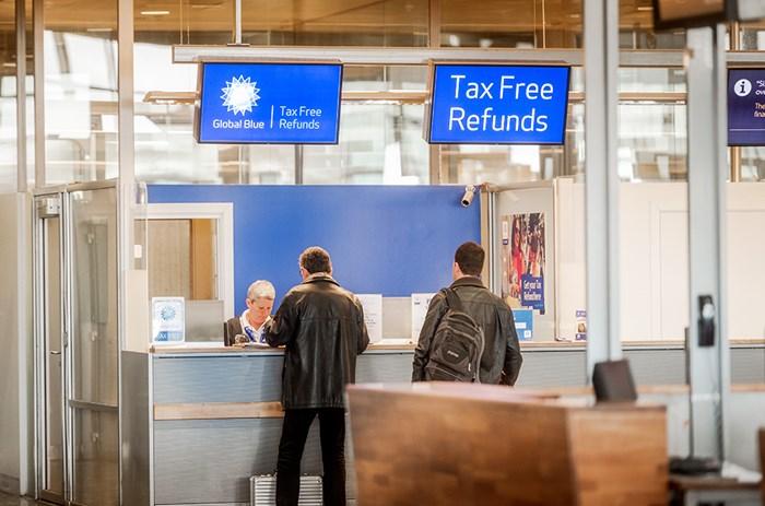 Стойки Tax Refund в аэропорту Осло